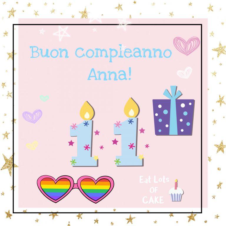 Buon compleanno a… me!